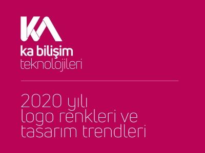 2020 yılı logo renkleri ve tasarım trendleri